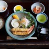 あわびめし栄楽 - 料理写真:エビフライ定食