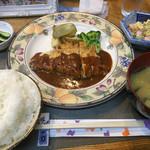美利河 - 料理写真:♪チーズインポークソテー¥1080