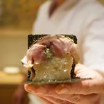 寿しの吉乃 - 鯖寿司の炙り