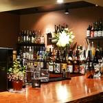 japanesewhisky&spirits Bar 蕾 - 店内奥からの写真①