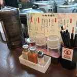 らぁ麺 紫陽花 - らぁ麺 紫陽花(愛知県名古屋市八剱町)店内