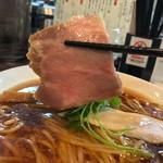 らぁ麺 紫陽花 - らぁ麺 紫陽花(愛知県名古屋市八剱町)醤油らぁ麺