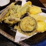 伽羅 - 夏野菜の天ぷら
