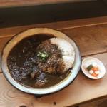 フジヤマプリン - すじカレー