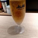 麺屋百式 - グラスビール