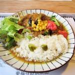 東福寺野倶楽部 - チキン野菜カレー。1340円