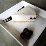 コブケ コーヒー - ブルーベリーのレアチーズケーキ!