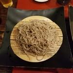 梵保庵 - ざる蕎麦(黒)