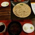 梵保庵 - ざる蕎麦(白)