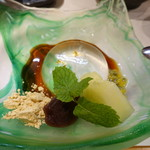 柳家錦 - 新デザート、柳の雫