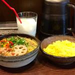 71366431 - チキンと野菜のスープカレー