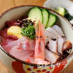 和今洋菜 あん - 天然物の魚介を堪能できる『海鮮丼』