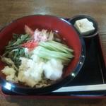 大村屋 - 料理写真:冷やしたぬきうどん
