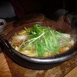 東京庵 - 塩ちゃんこ鍋さっぱり味