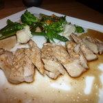 東京庵 - 豚肉の網焼きバルサミコ風味