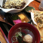 福来路巣 - どてチーズ丼(税込870円)(2017.08現在)