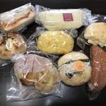 き・ら・らベーカリー - 料理写真:今回買ったパン達〜