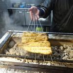 柳家錦 - 今日も丸々太った素晴らしい鰻が手に入りました