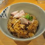 中華蕎麦 はる - 季節のごはん200円
