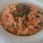 アルカディア - 「毛ガニと菜の花、モッツラレラチーズのリゾット 1,300円」