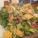 71373093 - 夏野菜とポテトのサラダ