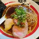 麺や でこ - 2017年8月 醤油そば 780円