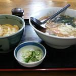 田中屋 - ラーメン&ミニカツ丼