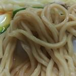 中華そば みたか - 蕎麦みたいな風味を感じる麺、蕎麦粉入ってないのかな〜