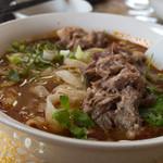 中華料理 華縁 - 料理写真:羊肉刀削麺