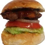 サントゥーダイナー - ジャークチキンバーガー