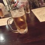 ドラゴン厨房 - 暑いのでビールがススむ