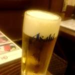 居酒屋 釧路 - アサヒスーパードライ:250円