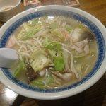 六もん - タンメン(¥750)