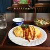 ノラリ&クラリ - 料理写真:ランチメニューの「チキンオムライス」です(2017.8.12)