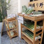 しずや - 朝穫り野菜の直売