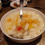 中国料理 華龍 - あんにん豆腐(杏仁豆腐)