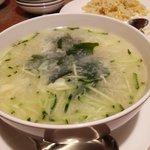 中国料理 華龍 - 卵スープ(蛋花湯)