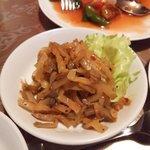 中国料理 華龍 - ザーサイ(搾菜)