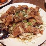 中国料理 華龍 - 鶏もも肉からあげ、特製ソース掛け(油淋鶏)