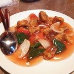 中国料理 華龍 - 酢豚(糖醋肉)