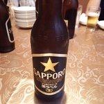 中国料理 華龍 - 瓶ビール(サッポロ)