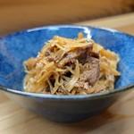 家庭料理 小川 - 牛肉新しょうが煮