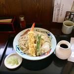 そば処 勇屋 - 料理写真:天おろし蕎麦