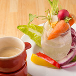 ワイガヤ - 有機野菜のバーニャカウダ