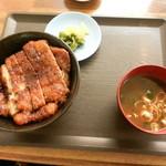 Kiyomiya - 元祖うなぎだれ蒲焼カツ丼