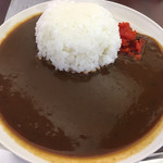 赤煉瓦カフェ ジャズ - 海軍カレー800円(2017.08)