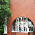 ティールーム 霧笛 - cafeの入り口(外からの入り口)