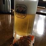 しげの屋 - 生ビール500円