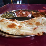 インド料理 NIRVANA - Sセットを正面から。