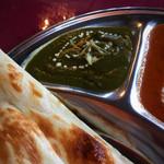 インド料理 NIRVANA - ほうれん草ポークカレー